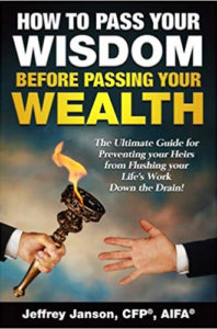 How to Pass your Wisdom before Passing your Wealth Book